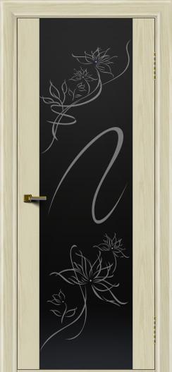 Двери ЛайнДор Камелия тон 34 стекло Камелия