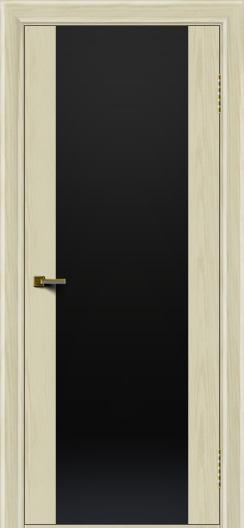 Двери ЛайнДор Камелия тон 34 стекло Черное