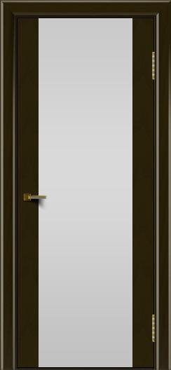 Двери ЛайнДор Камелия тон 35 стекло Белое
