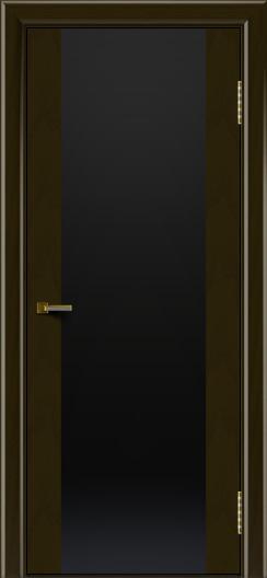 Двери ЛайнДор Камелия тон 35 стекло Черное