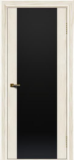 Двери ЛайнДор Камелия тон 36 стекло Черное
