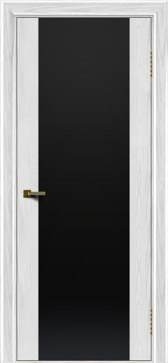 Двери ЛайнДор Камелия тон 38 стекло Черное