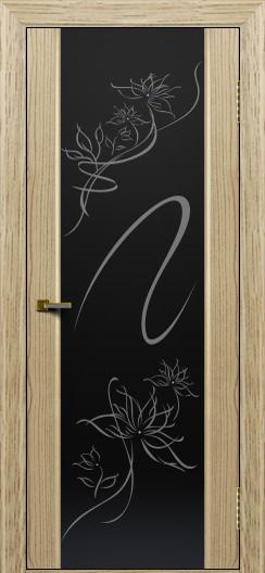 Двери ЛайнДор Камелия тон 40 стекло Камелия
