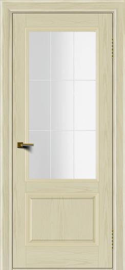 Двери ЛайнДор Кантри тон 34 стекло Решетка
