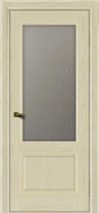 Двери ЛайнДор Кантри тон 34 стекло Ромб