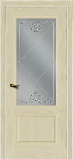 Двери ЛайнДор Кантри тон 34 стекло Узор