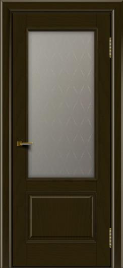 Двери ЛайнДор Кантри тон 35 стекло Ромб