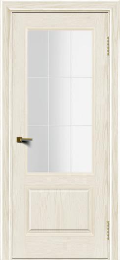 Двери ЛайнДор Кантри тон 36 стекло Решетка