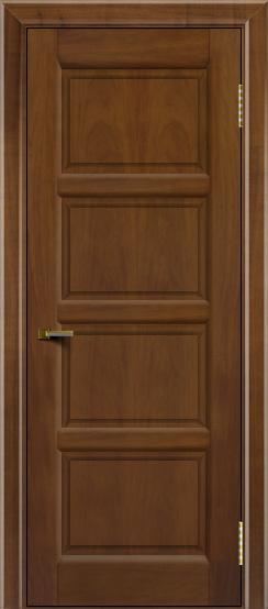 Двери ЛайнДор Классика 2 американский орех тон 23 глухая