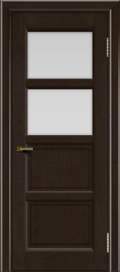 Двери ЛайнДор Классика 2 венге тон 12 стекло белое 2