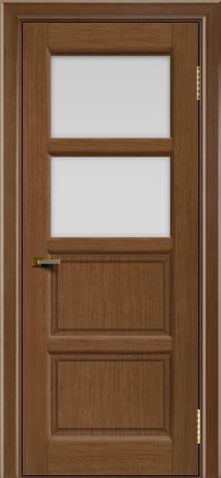 Двери ЛайнДор Классика 2 дуб тон 5 стекло белое 2