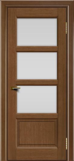 Двери ЛайнДор Классика 2 дуб тон 5 стекло белое 3
