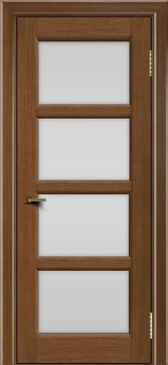 Двери ЛайнДор Классика 2 дуб тон 5 стекло белое 4