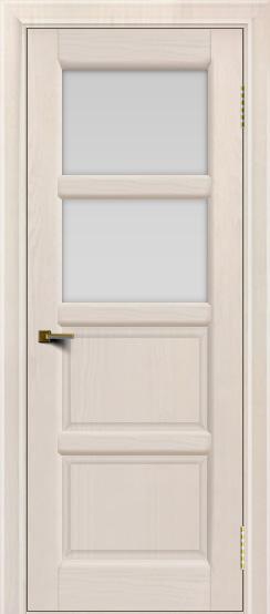 Двери ЛайнДор Классика 2 жемчуг тон 27 стекло белое 2