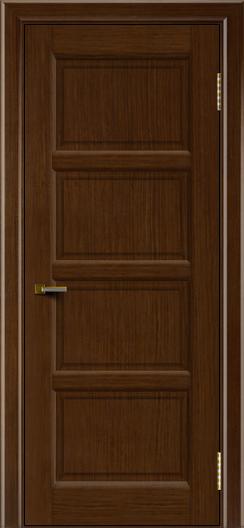 Двери ЛайнДор Классика 2 орех тон 2 глухая