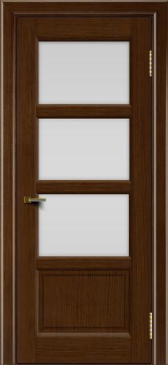 Двери ЛайнДор Классика 2 орех тон 2 стекло белое 3