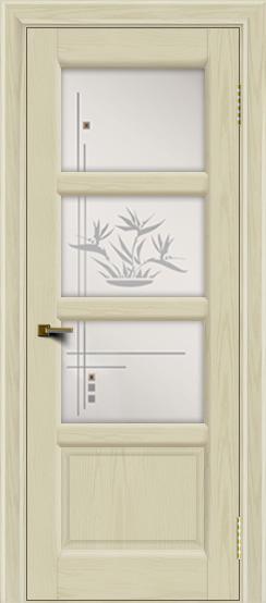 Двери ЛайнДор Классика 2 тон 34 стекло Классика 3