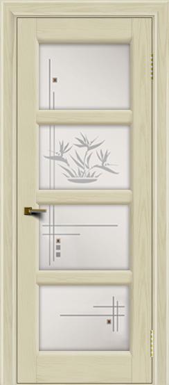 Двери ЛайнДор Классика 2 тон 34 стекло Классика 4