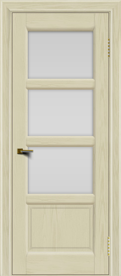Двери ЛайнДор Классика 2 тон 34 стекло белое 3