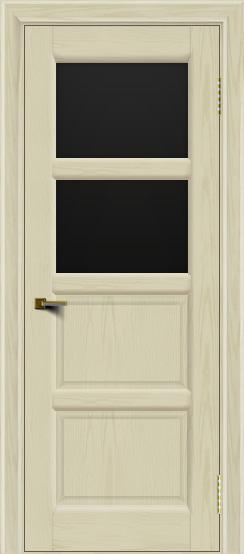 Двери ЛайнДор Классика 2 тон 34 стекло черное 2
