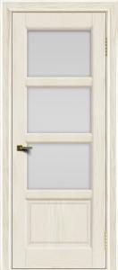 Двери ЛайнДор Классика 2 тон 36 стекло белое 3