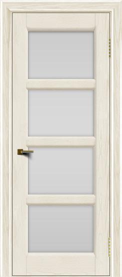 Двери ЛайнДор Классика 2 тон 36 стекло белое 4