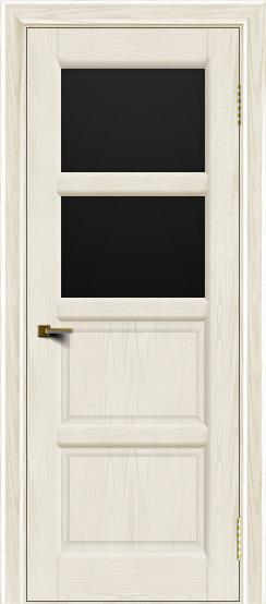 Двери ЛайнДор Классика 2 тон 36 стекло черное 2