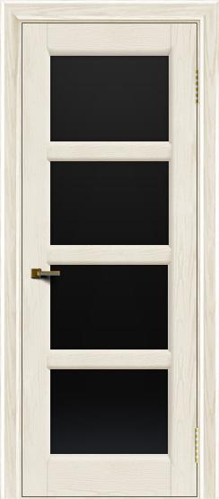 Двери ЛайнДор Классика 2 тон 36 стекло черное 4