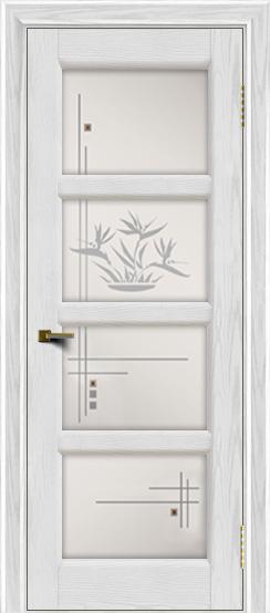 Двери ЛайнДор Классика 2 тон 38 стекло Классика 4
