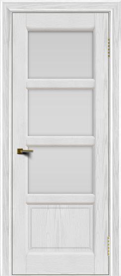 Двери ЛайнДор Классика 2 тон 38 стекло белое 3