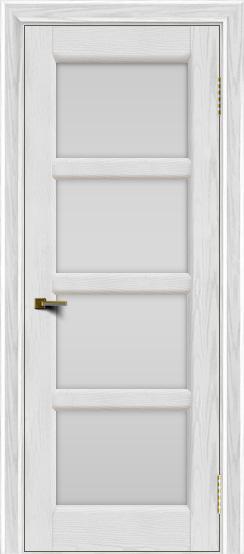 Двери ЛайнДор Классика 2 тон 38 стекло белое 4