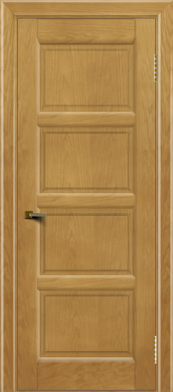 Двери ЛайнДор Классика 2 ясень тон 24 глухая