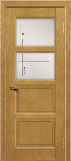 Двери ЛайнДор Классика 2 ясень тон 24 стекло Классика 2