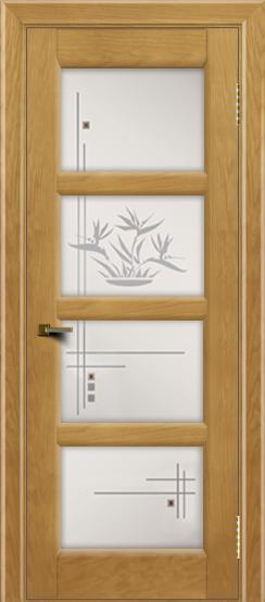 Двери ЛайнДор Классика 2 ясень тон 24 стекло Классика 4