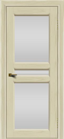 Двери ЛайнДор Кристина 2 тон 34 белое полное стекло