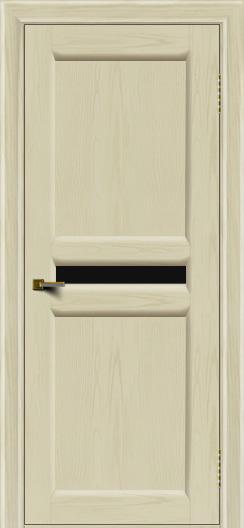 Двери ЛайнДор Кристина 2 тон 34 черное малое стекло