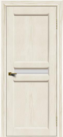 Двери ЛайнДор Кристина 2 тон 36 белое малое стекло
