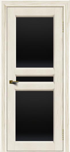 Двери ЛайнДор Кристина 2 тон 36 черное полное стекло