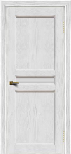 Двери ЛайнДор Кристина 2 тон 38 белое малое стекло
