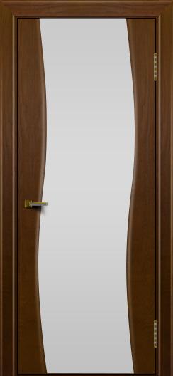 Двери ЛайнДор Лайма тон 30 стекло Белое