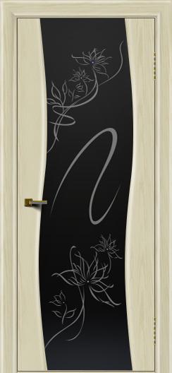 Двери ЛайнДор Лайма тон 34 стекло Камелия