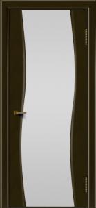 Двери ЛайнДор Лайма тон 35 стекло Белое