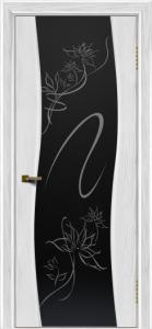 Двери ЛайнДор Лайма тон 38 стекло Камелия