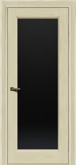 Двери ЛайнДор Мальта 2 тон 34 стекло черное
