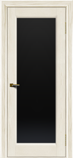 Двери ЛайнДор Мальта 2 тон 36 стекло черное
