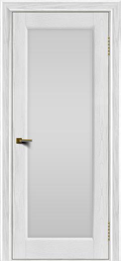 Двери ЛайнДор Мальта 2 тон 38 стекло белое