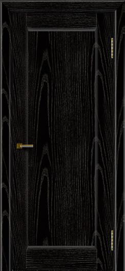 Двери ЛайнДор Мальта 2 черная эмаль тон 26 глухая