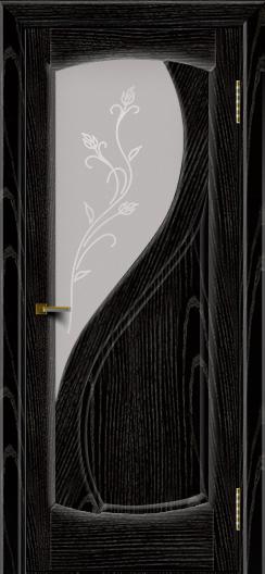 Двери ЛайнДор Новый стиль 2 тон 26 стекло Ирис светлое