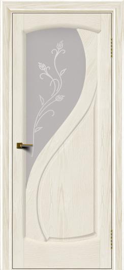 Двери ЛайнДор Новый стиль 2 тон 36 стекло Ирис светлое