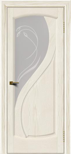Двери ЛайнДор Новый стиль 2 тон 36 стекло Новый стиль светлое
